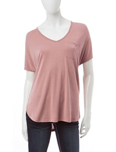 Wishful Park Split Hem Top