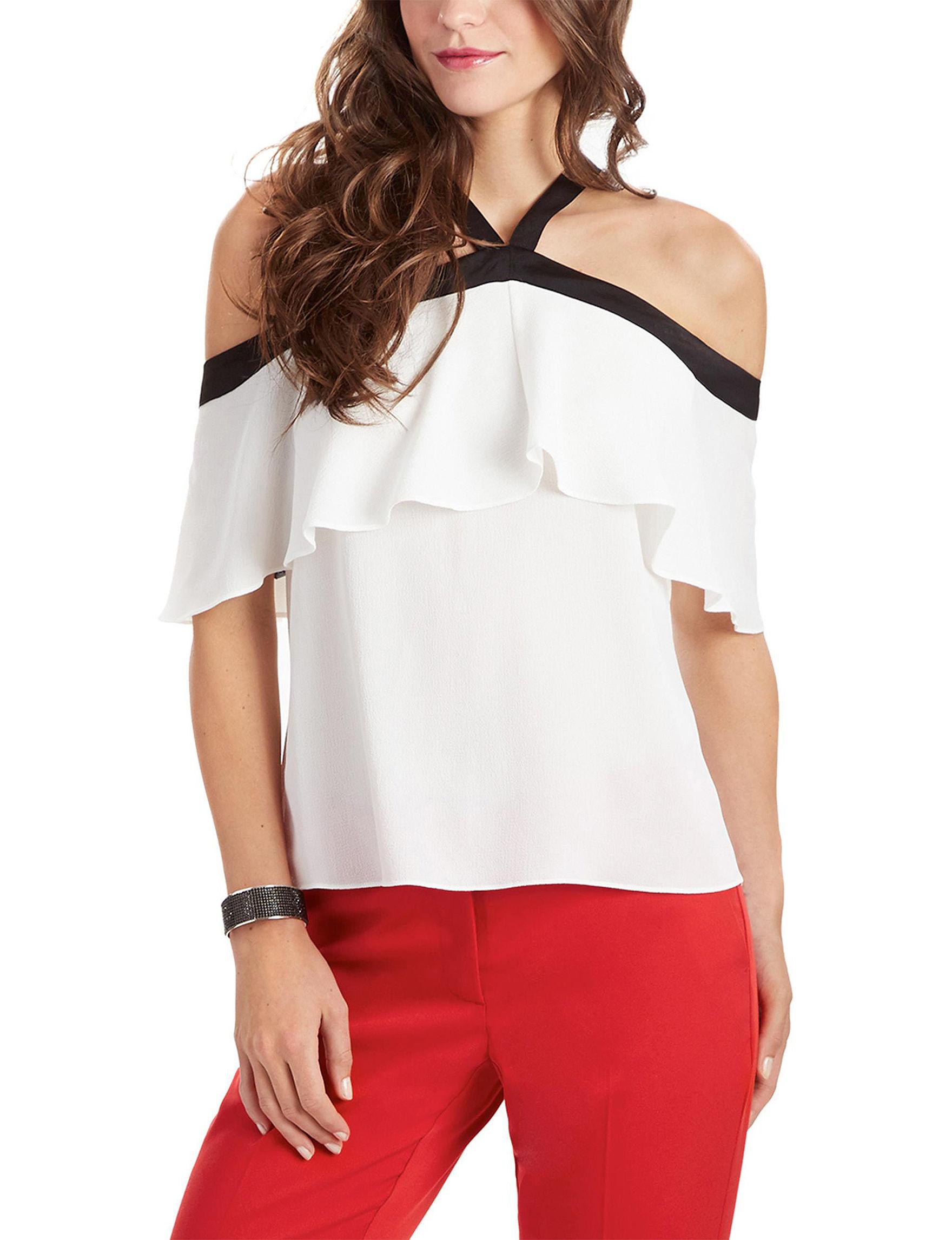 XOXO Ivory Shirts & Blouses