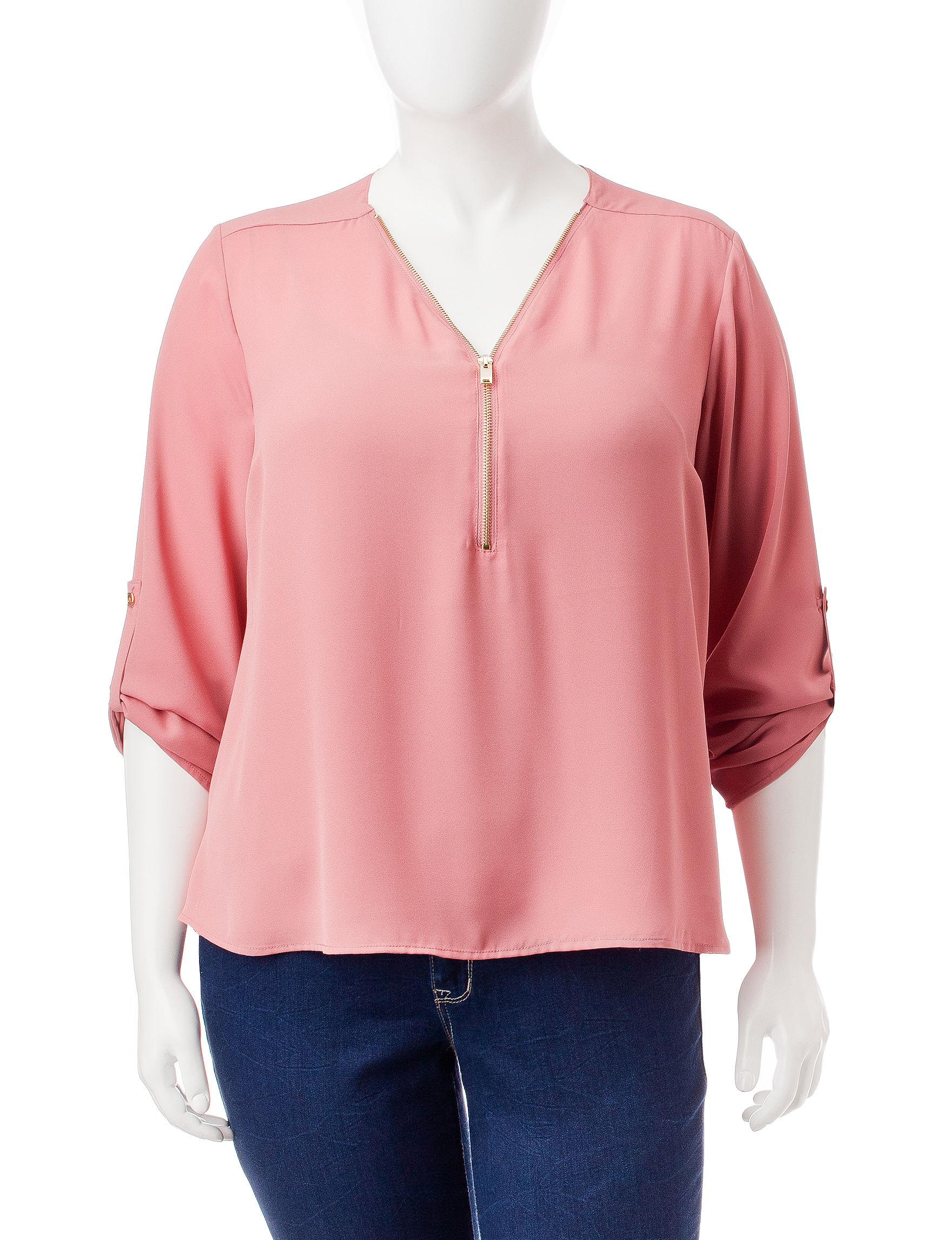Justify Dark Pink Shirts & Blouses