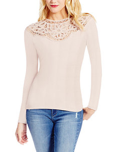 Jessica Simpson Pink Lace Top