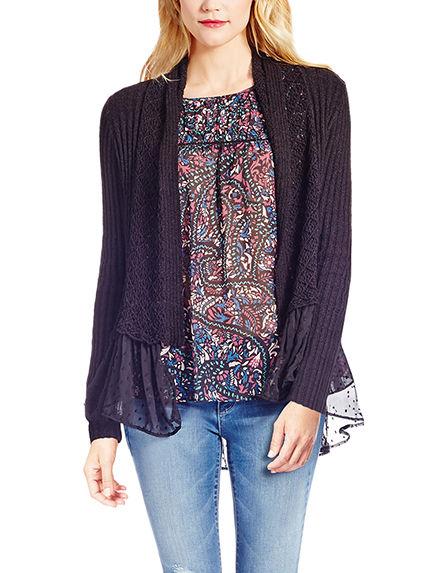 Jessica Simpson Black Cardigans Sweaters
