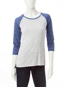 Wishful Park Dark Blue Shirts & Blouses