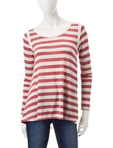 Jolt Pink Shirts & Blouses