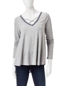 Jolt Grey Shirts & Blouses
