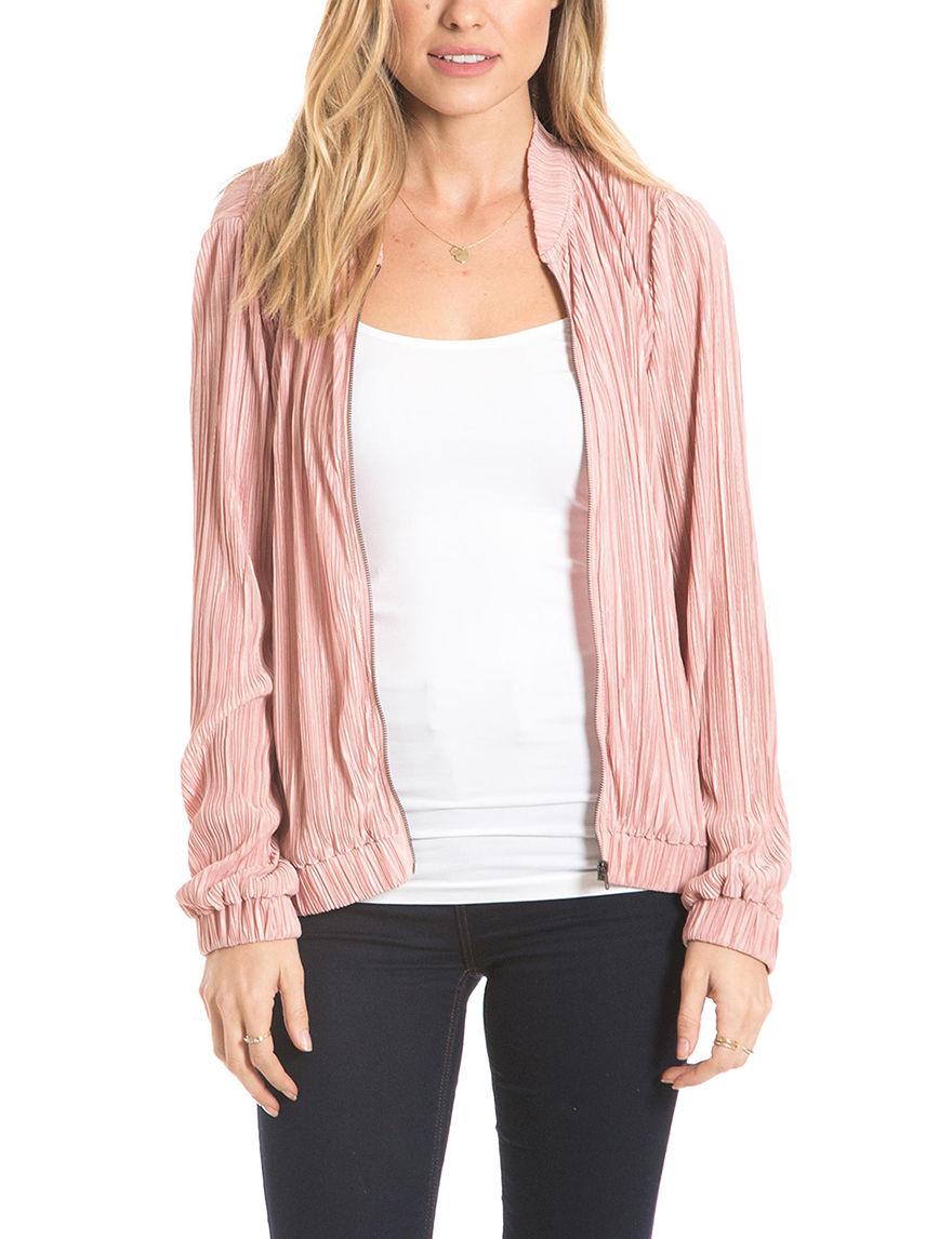 Eyeshadow Pink Lightweight Jackets & Blazers