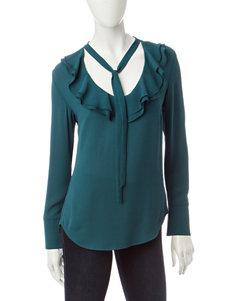 Heart Soul Green Shirts & Blouses