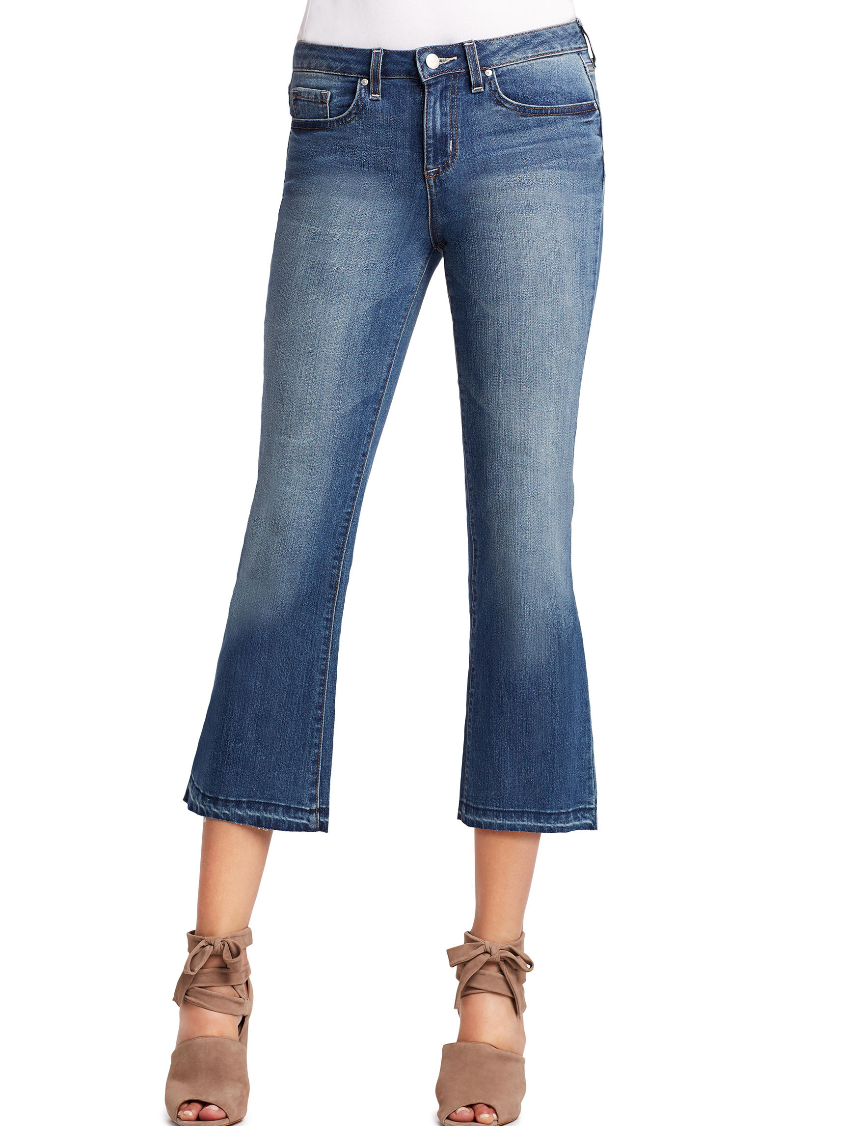 jessica simpson cherish cropped flare jeans stage stores. Black Bedroom Furniture Sets. Home Design Ideas
