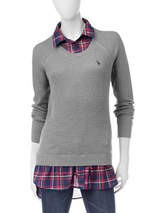 U.S. Polo Assn. Grey Pull-overs