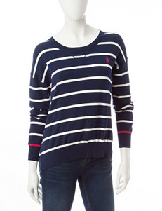 U.S. Polo Assn. Navy Pull-overs