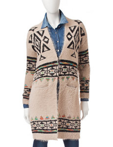 My Michelle Tribal Print Cardigan