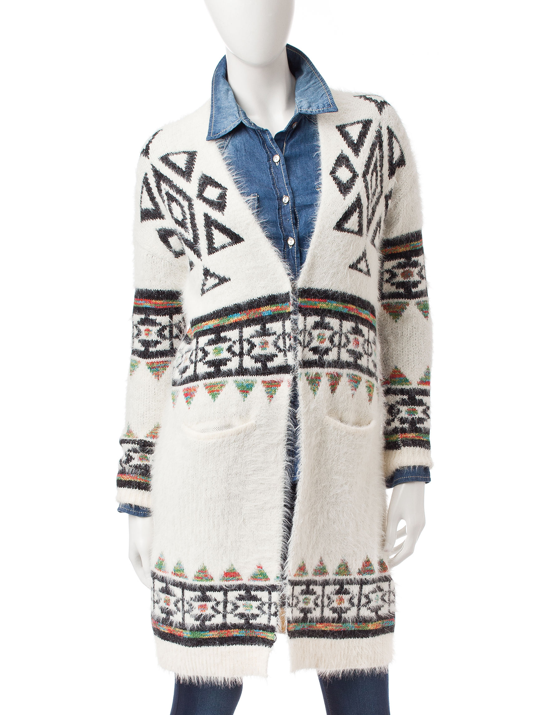 My Michelle Ivory Cardigans