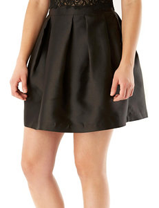 A. Byer Black Party Skirt