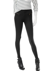 No Comment Black Quilted Leggings
