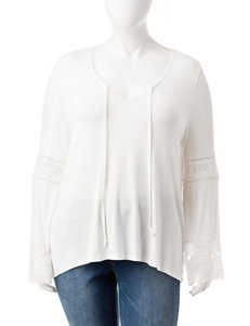 Cloud Chaser Ivory Shirts & Blouses