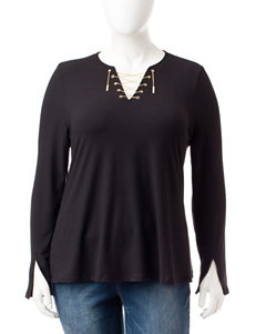 Cloud Chaser Black Shirts & Blouses