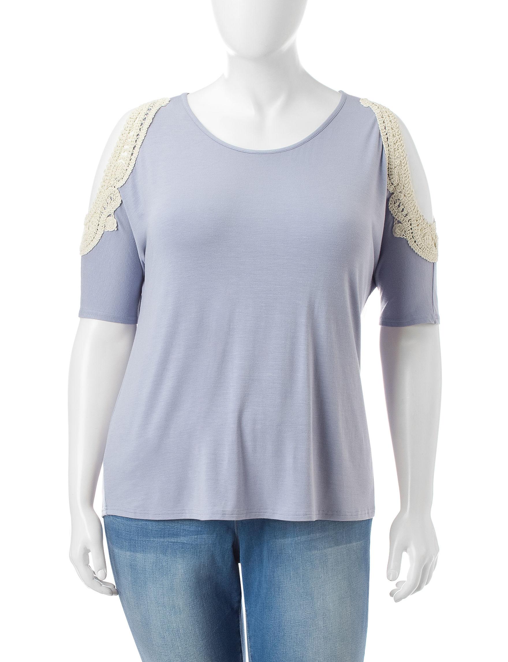 Justify Light Purple Shirts & Blouses