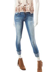 YMI Medium Wash Large Cuff Jeans