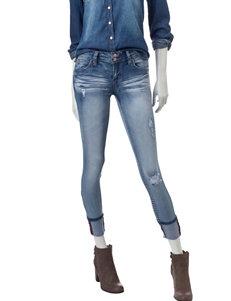YMI Cuffed Skinny Jeans