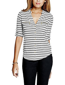 G by Guess Black Shirts & Blouses
