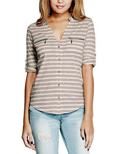 G by Guess Button Front Top