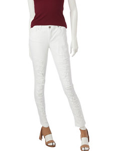 Almost Famous White Skinny