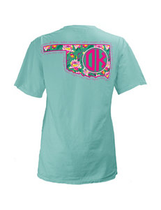 Oklahoma Floral State Top