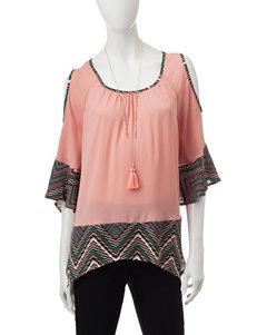 My Michelle Salmon Shirts & Blouses