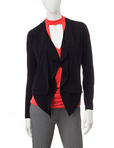 My Michelle Black Lightweight Jackets & Blazers