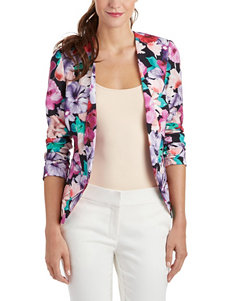 XOXO Multicolor Floral Print Jacket