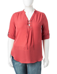 Justify Brick Red Shirts & Blouses