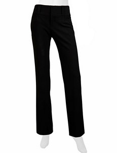 A. Byer Black Relaxed Straight Skinny Slim Straight Straight