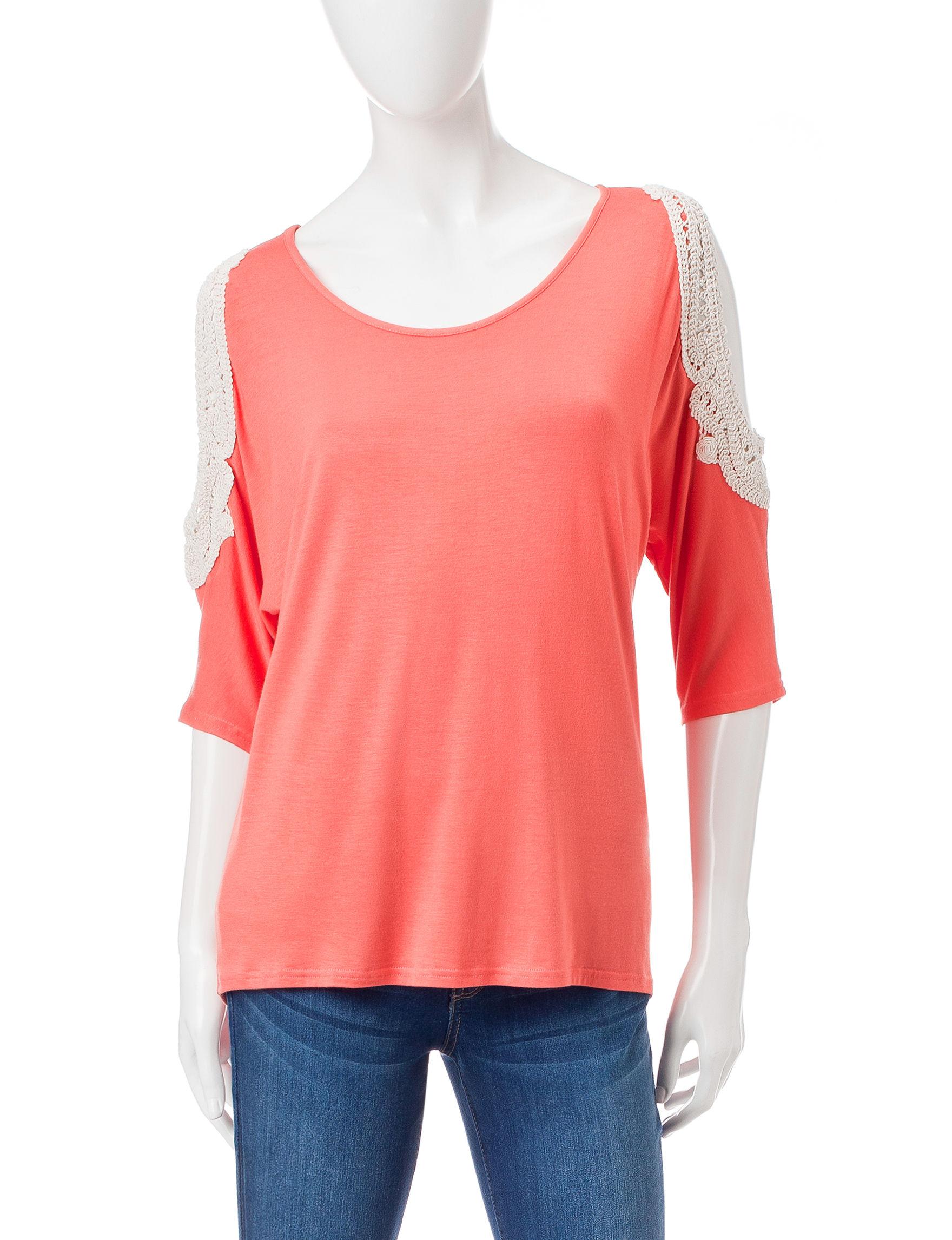 Wishful Park 27 Orange Shirts & Blouses