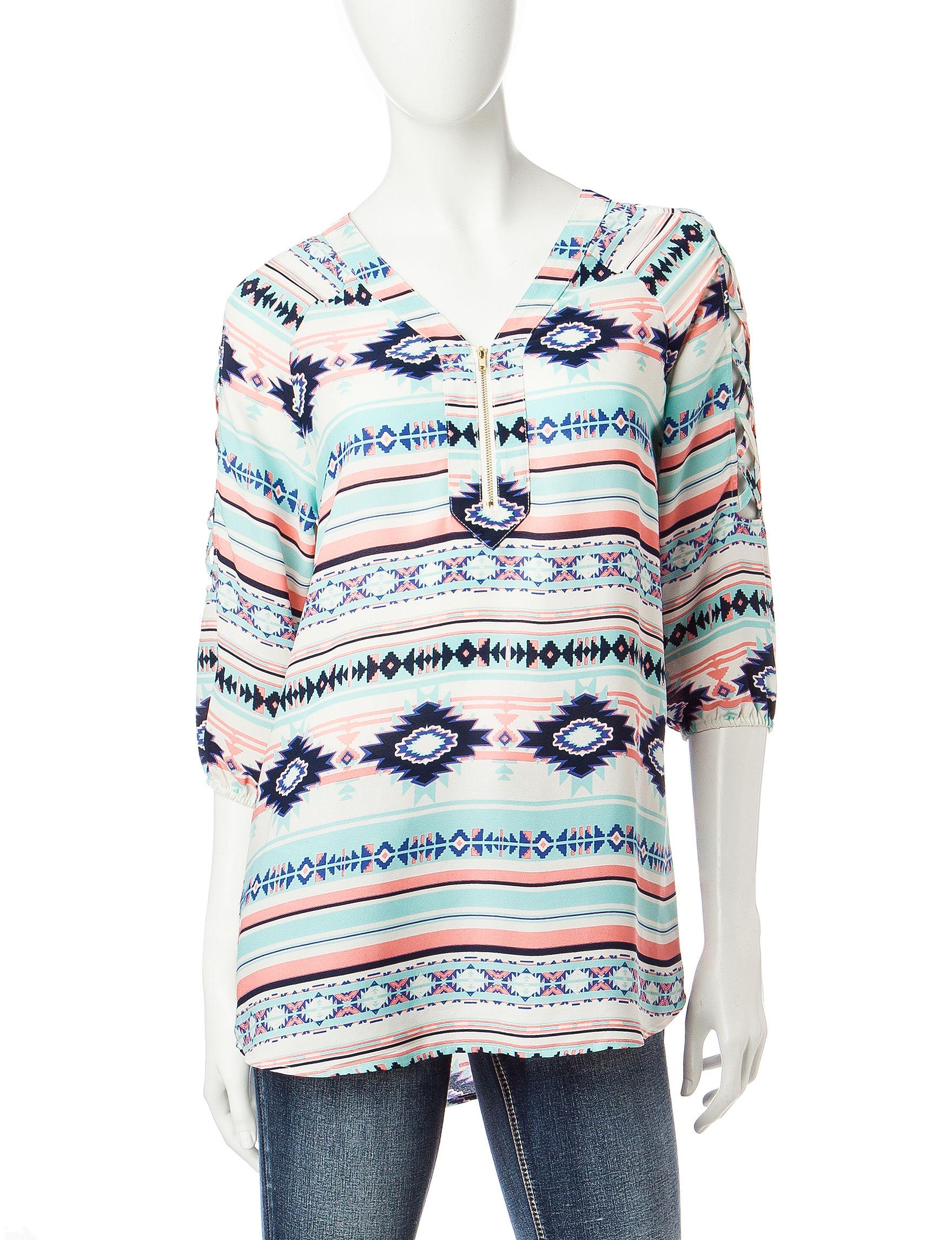 Wishful Park Brown Shirts & Blouses