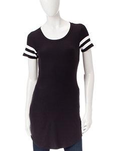 Ultra Flirt Black Shirts & Blouses