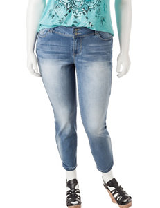 YMI Juniors-plus Luxe Skinny Jeans