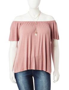 Ultra Flirt Pink Shirts & Blouses