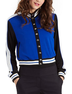 XOXO Cobalt Blue Lightweight Jackets & Blazers