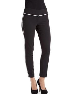 XOXO Contrast Piping Ankle Length Pants