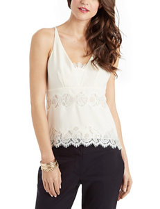 XOXO Lace Inset Top