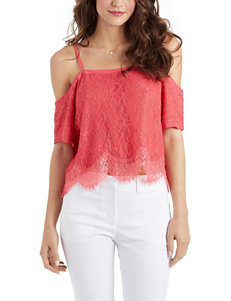 XOXO Lace Overlay Top