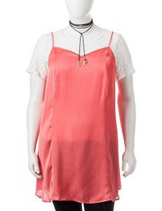 Self Esteem Coral Shirts & Blouses
