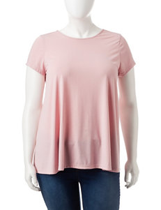 Justify Blush Shirts & Blouses