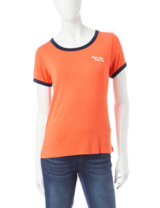 Justify Orange Tees & Tanks