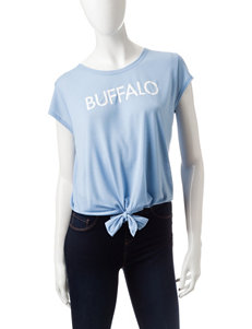 Buffalo Blu Black Tees & Tanks