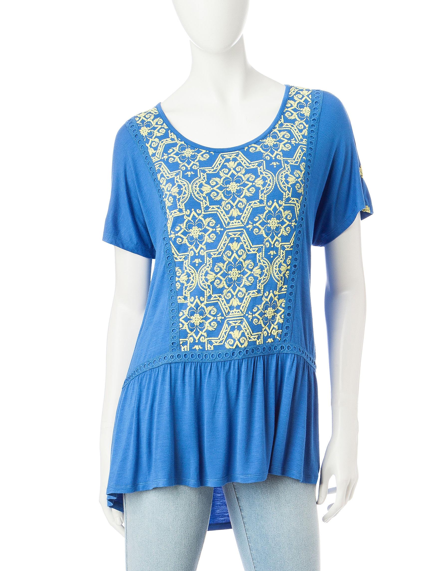 Signature Studio Palace Blue Shirts & Blouses
