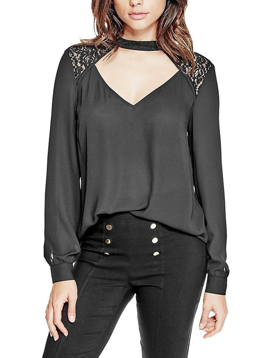 G by Guess Silver Shirts & Blouses