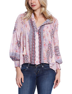 C + J Collection Smocked Top