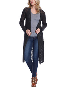 C + J Collection Dark Grey Cardigans