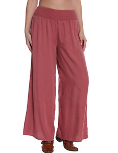 C + J Collection Red Wide Leg