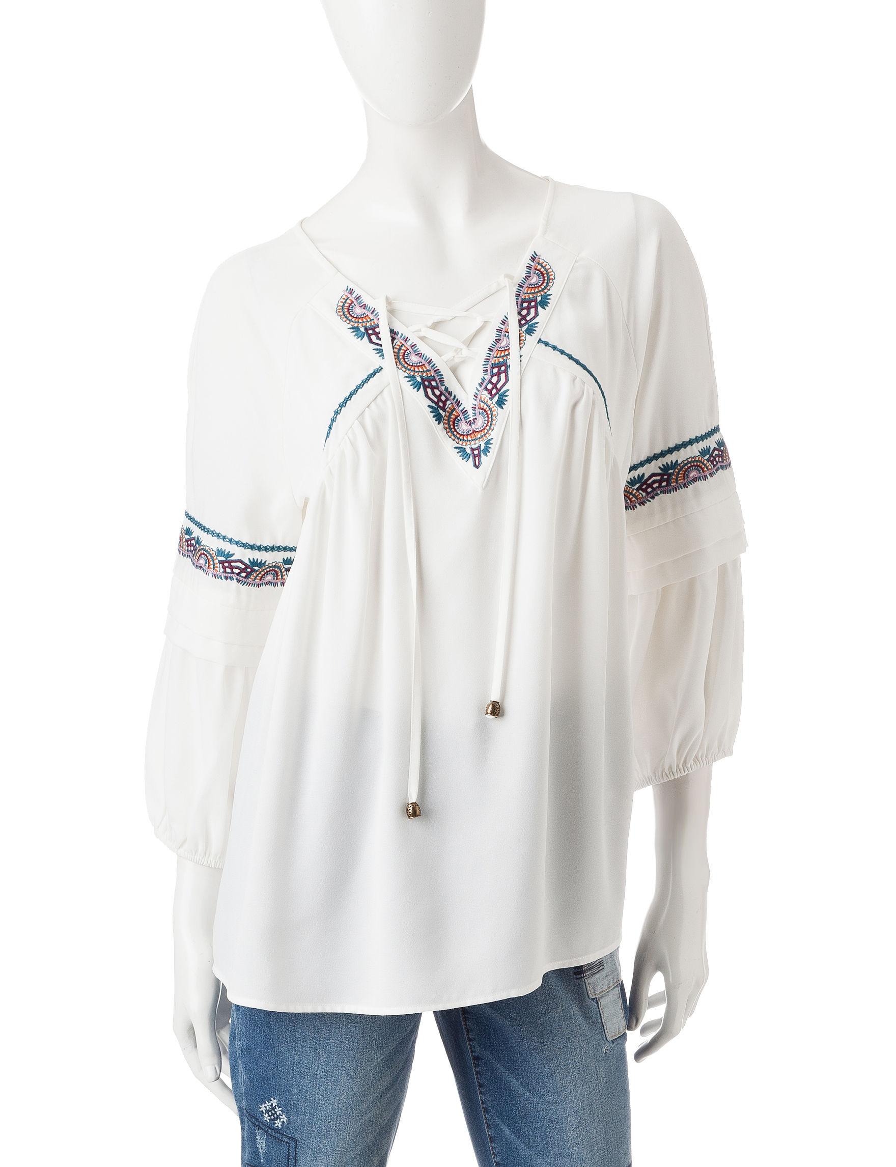 Signature Studio White Shirts & Blouses